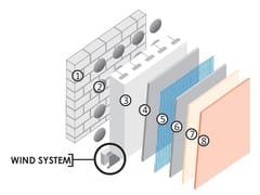 - Exterior insulation system ISOKAP VENTILATO - Cabox