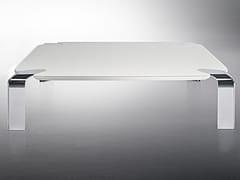 - Rectangular crystal coffee table FLOW | Rectangular coffee table - F.lli Orsenigo