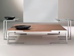 - Square MDF coffee table TEMPURA   Coffee table - F.lli Orsenigo