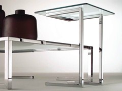 - Square crystal coffee table TEMPURA | Crystal coffee table - F.lli Orsenigo