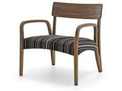 - Easy chair with armrests MORAAR LAZY PAUL SMITH SPECIAL - Passoni Nature