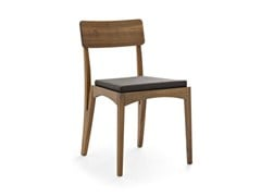 - Solid wood chair MORAAR | Chair - Passoni Nature
