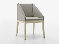 - Upholstered chair with armrests SLOW | Chair with armrests - Passoni Nature