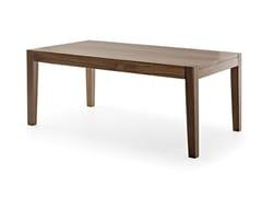 - Extending rectangular wooden table HELIOS | Extending table - Passoni Nature