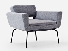 - Fabric armchair with armrests SERIE 50 | Armchair with armrests - La Cividina