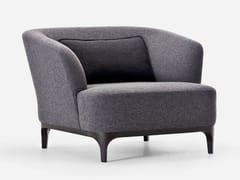 - Guest chair with armrests ELLE/P | Armchair - La Cividina
