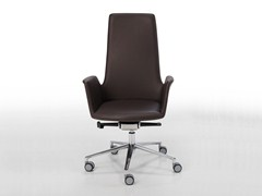 - Height-adjustable swivel task chair with casters ALTEA OFFICE | Task chair with casters - Inclass Mobles