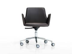 - Swivel recliner task chair with 5-Spoke base ALTEA OFFICE | Task chair with armrests - Inclass Mobles