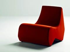 - Upholstered guest chair STONES | Armchair - La Cividina