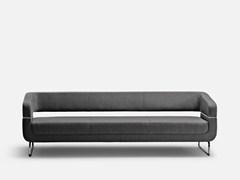 - Upholstered 3 seater sofa MATRIX | 3 seater sofa - La Cividina