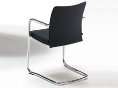 - Cantilever upholstered chair with armrests ITEK 200 | Chair - Inclass Mobles