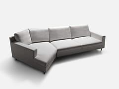 - Corner sectional fabric sofa MANHATTAN | Corner sofa - La Cividina