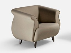 - Fabric guest chair with armrests GENESIS | Armchair - La Cividina