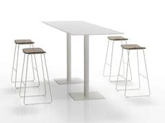 - Rectangular high table FLAT | High table - Inclass Mobles