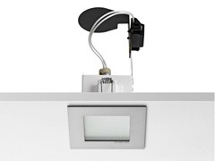 - Halogen ceiling recessed die cast aluminium spotlight MICRO BATTERY - FLOS