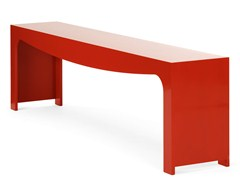 - Backless MDF bench seating TOSCA | MDF bench seating - Nola Industrier