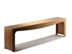- Backless wooden bench seating TOSCA | Wooden bench seating - Nola Industrier