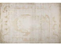 - Handmade rectangular rug FONTENAY NEW AGE PLATINE - EDITION BOUGAINVILLE