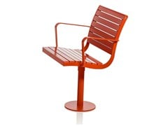 - Plate outdoor chair PARCO | Plate outdoor chair - Nola Industrier