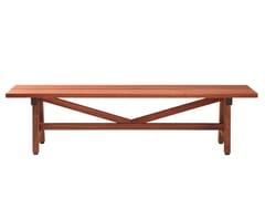 - Backless wooden Bench HJORTHAGEN | Backless Bench - Nola Industrier