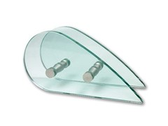 - Glass and steel Shower cabin handle GOCCIA - Nuova Oxidal