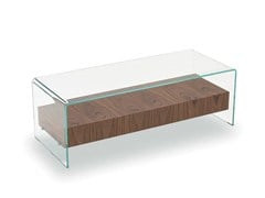 - Coffee table BRIDGE WITH DRAWER - SOVET ITALIA
