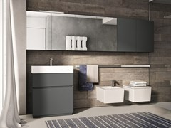 - Wooden bathroom furniture set CUBIK N°12 - IdeaGroup