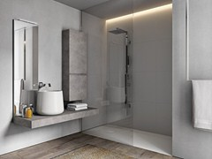 - Wood-product bathroom furniture set CUBIK N°11 - IdeaGroup