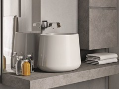 - Countertop ceramic washbasin CATINO - IdeaGroup