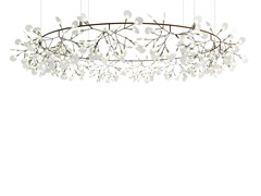 - Metal pendant lamp HERACLEUM THE BIG O - Moooi©