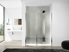 - Niche glass shower cabin SLIM 01 - IdeaGroup