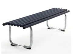 - Backless steel Bench GOAL | Backless Bench - Nola Industrier