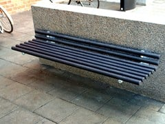 - Wall-Mounted steel Bench GOAL | Wall-Mounted Bench - Nola Industrier