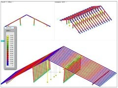 Structural calculation for timber DOLMEN LEGNO - CDM DOLMEN