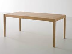 - Rectangular oak table TOGETHER | Rectangular table - GABER