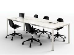 - Rectangular metal meeting table ILTAVOLO | Meeting table - Opinion Ciatti