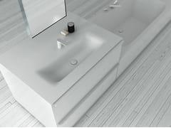 - Corian® washbasin KA | Rectangular washbasin - INBANI