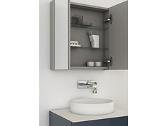 - Bathroom mirror with cabinet STRATO | Mirror with cabinet - INBANI
