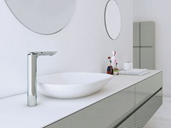 - Countertop Solid Surface® washbasin STRATO | Countertop washbasin - INBANI