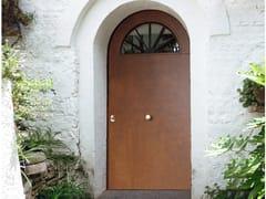 Porta d'ingresso blindata in okoumé ad arcoELITE - 16.5060 M60Vip - BAUXT