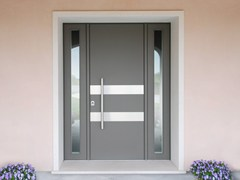 Porta d'ingresso blindata laccata in okouméSUPERIOR - 16.5092 M16 - BAUXT