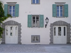 Porta d'ingresso blindata laccata in MDFELITE - 16.5095 M60Vip - BAUXT