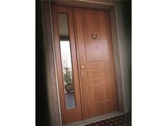 Porta d'ingresso blindata in rovere con pannelli in vetroELITE - 16.5085 M60Vip - BAUXT