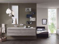 - Bathroom cabinet / vanity unit PROGETTO+ - Composition 1 - INDA®