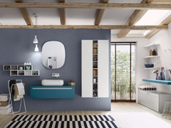 - Sectional bathroom cabinet PROGETTO - Composition 2 - INDA®