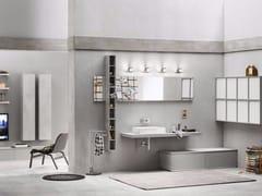 - Bathroom cabinet / vanity unit PROGETTO+ - Composition 2 - INDA®