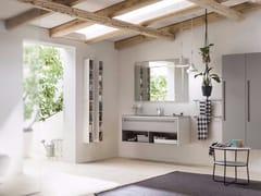 - Bathroom cabinet / vanity unit PROGETTO+ - Composition 4 - INDA®