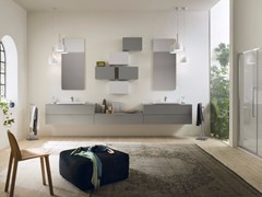 - Sectional bathroom cabinet PROGETTO - Composition 5 - INDA®