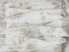 - Fabric with floral pattern for curtains PROVENZA CRUDO - Equipo DRT