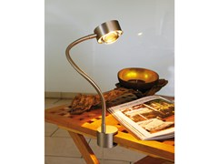 - Lampada da tavolo con morsetto con braccio flessibile PUK FLEXLIGHT SCREW - Top Light